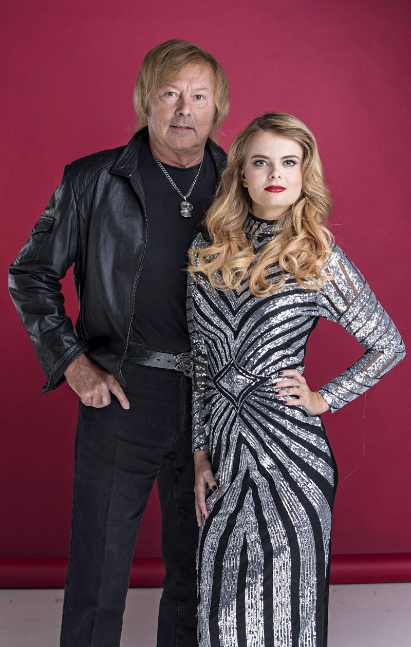 Erikalla ja Dannylla on ikäeroa 50 vuotta.