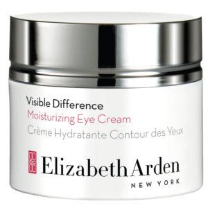 Elizabeth Arden Visible Difference -kosteuttavan silmänympärysvoiteen peptidit tekevät ihosta kimmoisamman, joustavamman ja kiinteämmän sekä edistävät kollageenintuotantoa, 15 ml 41 e.