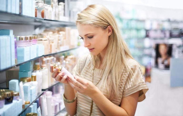 Kosmetiikan ainesosalista