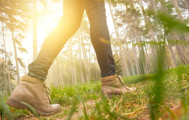 Jos haluat ratkaista ongelman, unohda se ja lähde kävelylle.