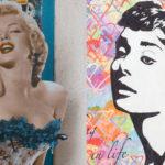 Marilyn Monroe oli horoskooppimerkiltään kaksoset ja Audrey Hepburn härkä.