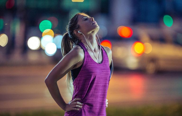 Hengitä oikein treenatessa.