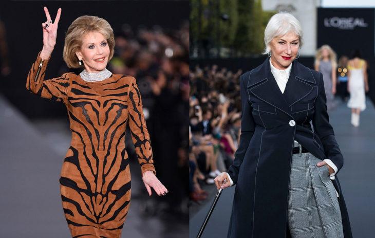 Jane Fonda ja Helen Mirren