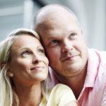 Tiina ja Jari kokevat, että onnettomuuden jälkeen heidän suhteestaan tuli aiempaa tasavertaisempi.