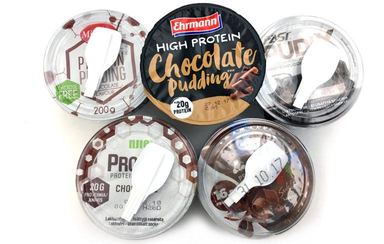Makutestissä suklaanmakuiset proteiinivanukkaat: voittaja menisi jälkkäristä!