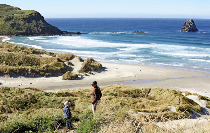 Uusi-Seelanti Sandfly Bay