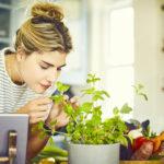 Paitsi että yrtit tuovat makua ruokaan ja edistävät terveyttä, ne tuoksuvat hyvältä ja toimivat myös sisustuselementtinä.