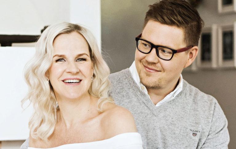 Antti Lindtman ja Kaija Stormbom