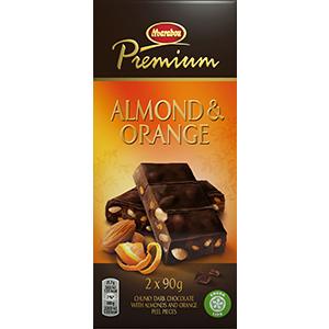 9. Almond & Orange -suklaalevy