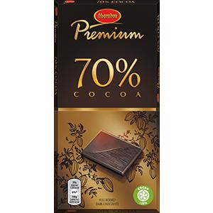 4. Cocoa 70% -suklaalevy