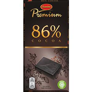 5. Cocoa 86% -suklaalevy