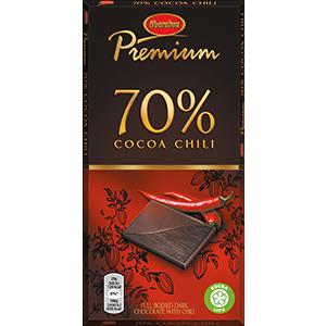 6. Cocoa Chili -suklaalevy