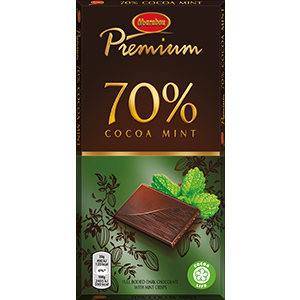 3. Cocoa Mint -suklaalevy