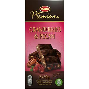 7. Cranberries & Pecan -suklaalevy
