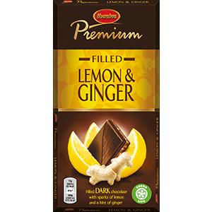 8. Lemon & Ginger -suklaalevy