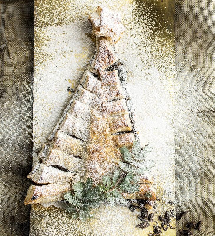 Voitaikinakuusi on maukas vaihtoehto perinteisille joulutortuille.