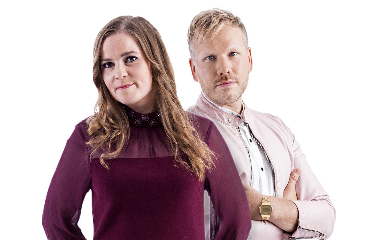 Johanna Iivanainen ja Osmo Ikonen ovat LOVEbandin solistit.