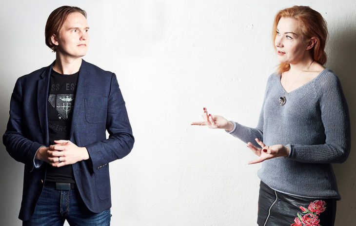 Henri Pirkkalainen ja Sari Östman