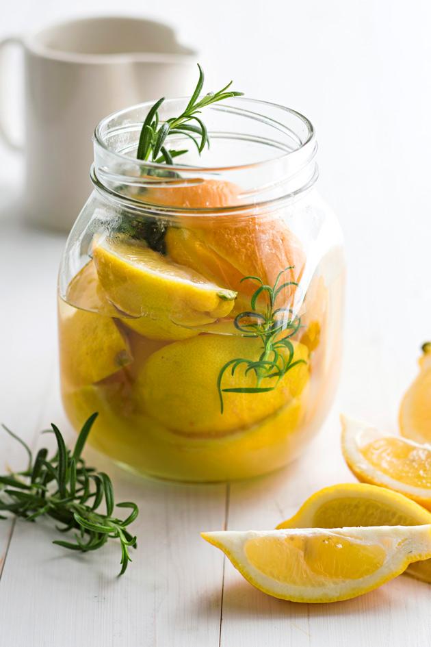 säilötyt sitruunat