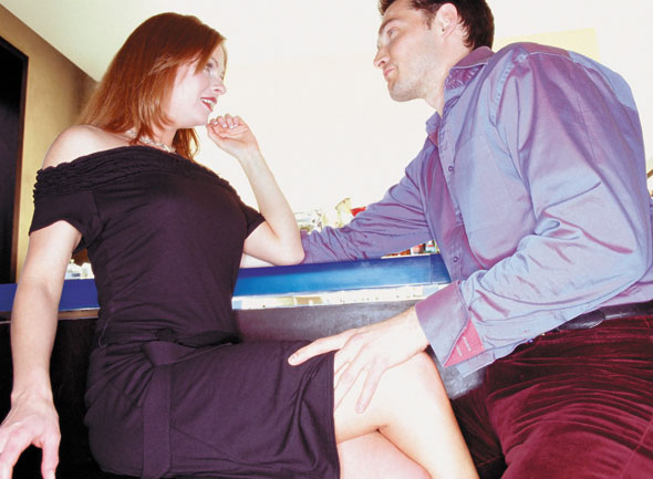 mies ja nainen sängyssä sexchat
