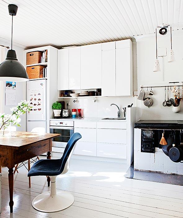 Viehättävä koti puutalossa – Vanhan talon hyvä henki  Anna fi