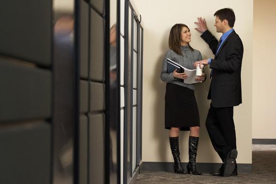 Flirttailu Työpaikalla