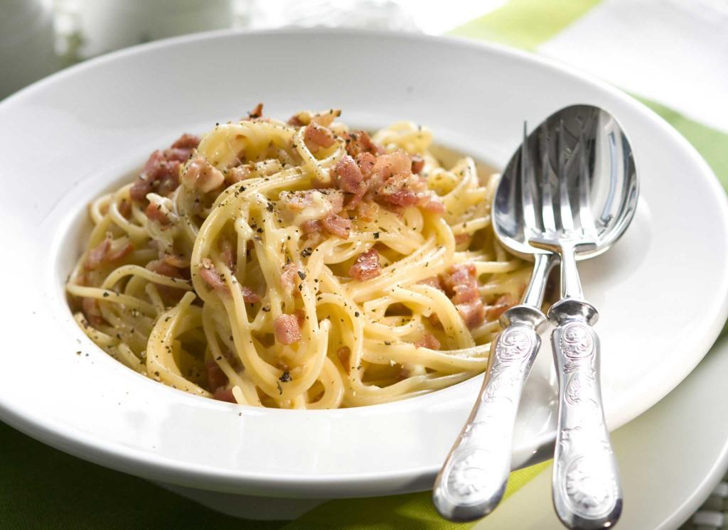 Pasta Carbonara Eli Miilunpolttajan Spagetti Reseptit Annafi