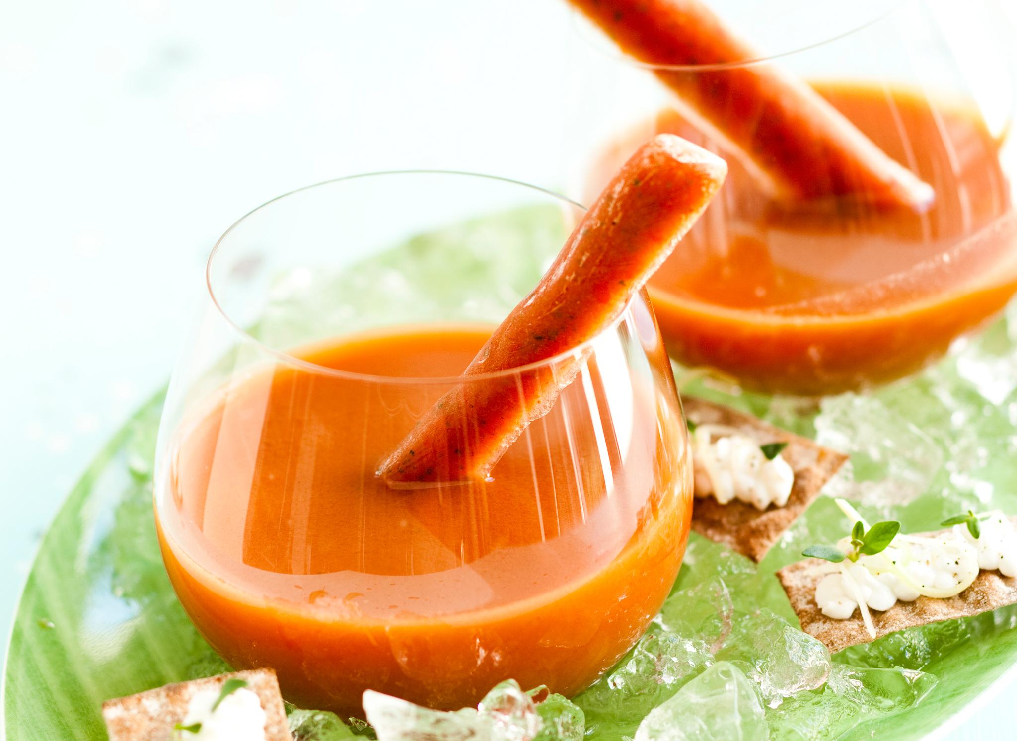 mansikkagazpacho