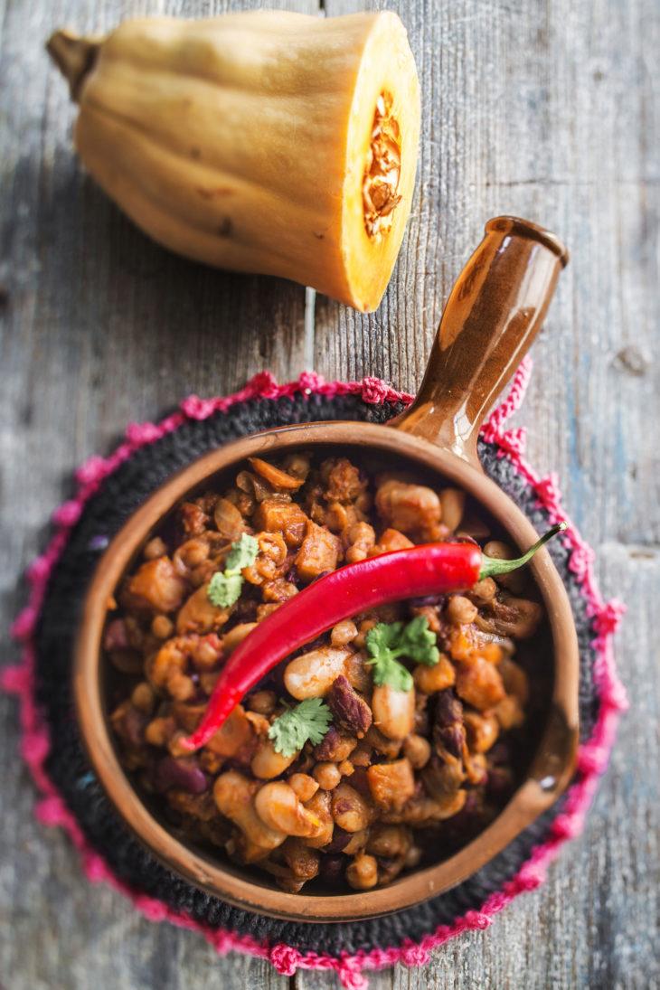 meksikolainen chili sin carne