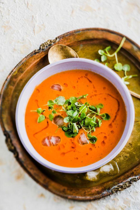 rooibos-tomaattikeitto