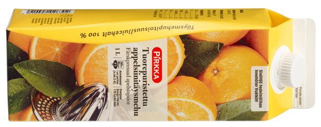Pirkka appelsiinitäysmehu