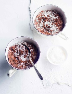 Kookos-suklaapuuro