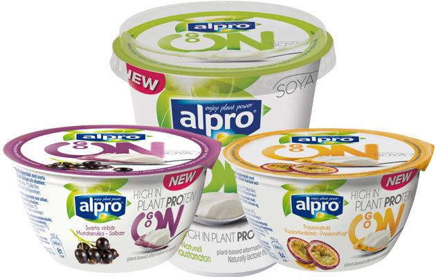 Alpro Go On -proteiinivälipalat