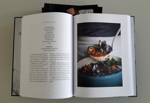Chorizosimpukat kirjassa Pataruokaa