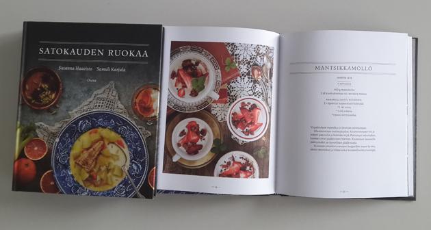 Satokauden ruokaa -kirjan resepti