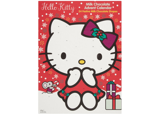 Hello Kitty -suklaakalenteri
