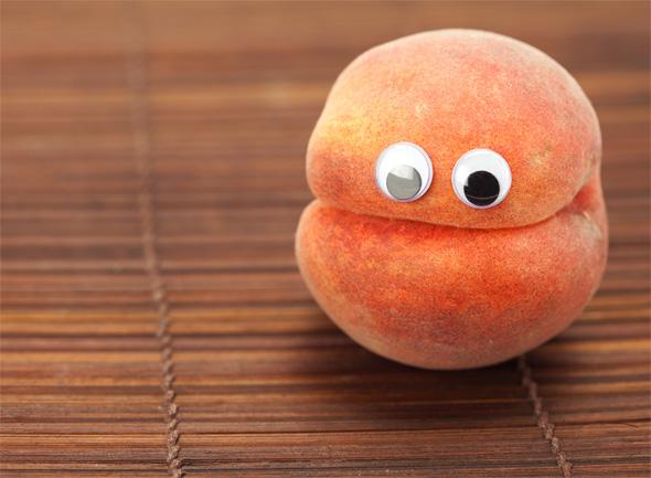 Персик картинки прикольные