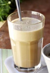 kahvi-banaanipirtelö