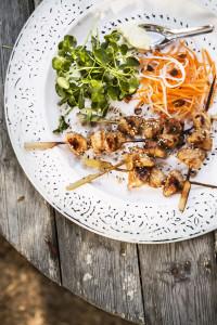 grillatut wasabi-broilerivartaat